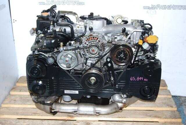 Subaru WRX 2002-2005 EJ205 2.0L AVCS Quad-Cam Turbo Engine