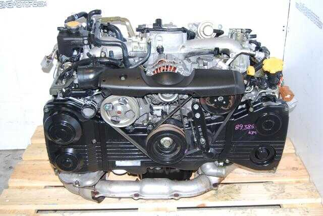 Subaru WRX 2002-2005 EJ205 Turbo Motor DOHC Quad Cam 2.0L Engine
