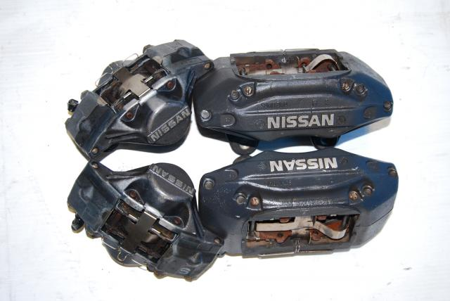 JDM NISSAN SKYLINE R34 GTT GTS 4/2 POTS BRAKE CALIPERS