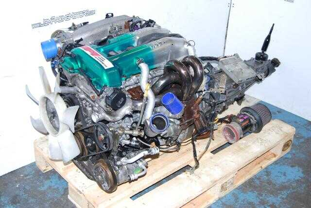 JDM SR20DET S14 Engine 5 Speed Transmission, Headers, Wiring, ECU