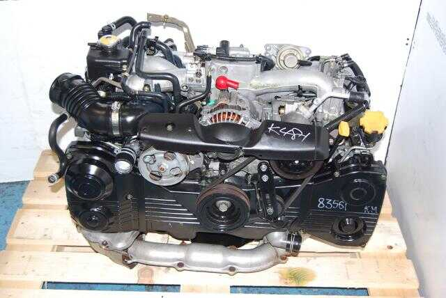 Subaru WRX 2002-2005 EJ205 Turbo Engine 2.0L DOHC Quad Cam Motor