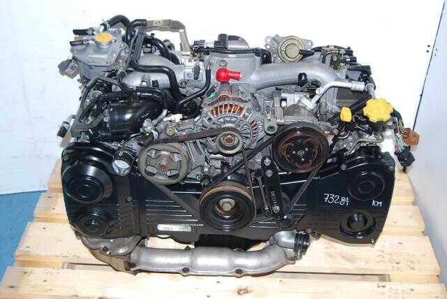 Subaru WRX Turbo DOHC EJ205 AVCS Quad Cam 2.0L Engine