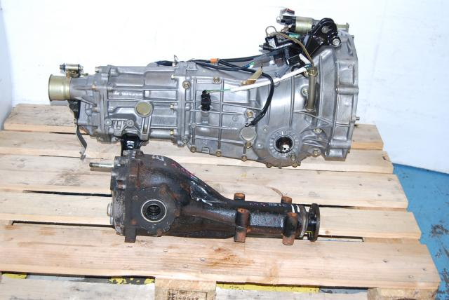 JDM Subaru Impreza WRX TY754VBBAA Transmission with 4.444 Final drive