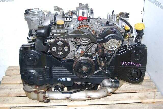 Subaru WRX 2002-2005 EJ205 Quad Cam 2.0L DOHC Turbo Engine