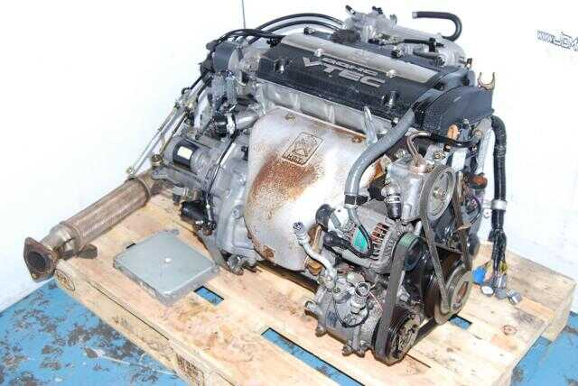 JDM H22A OBD1 Engine M2B4 LSD Transmission, P13 MT ECU