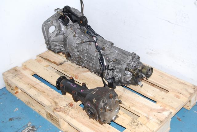 JDM TY754VBBBA 5 Speed Transmission with 4.11 LSD R160 Diff
