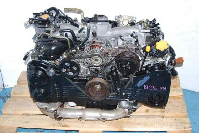 Used Subaru EJ205 AVCS Engine 2.0L Quad Cam Turbo Motor