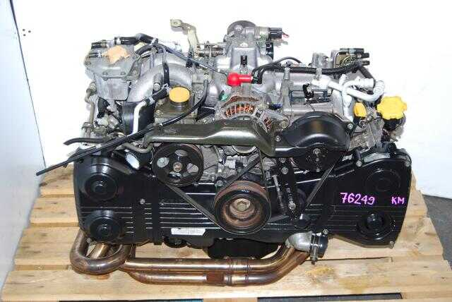 USED Subaru EJ205 Engine with Headers