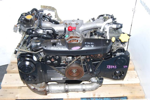 JDM EJ205 Engine Block, TF035 Turbo, AVCS TYPE