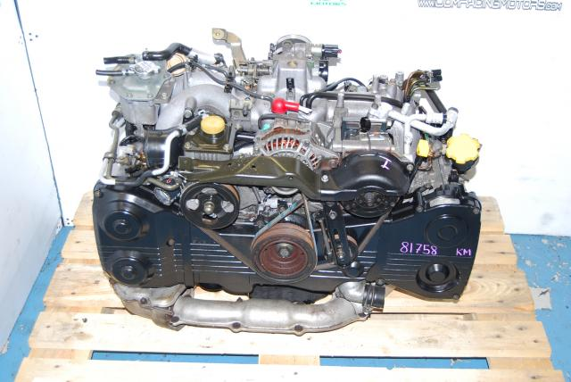 WRX EJ205 Engine, EJ205D Long Block with Turbo