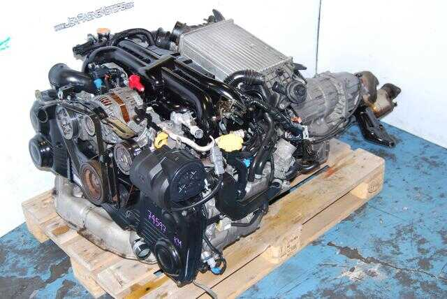 Subaru BP5 EJ20X Engine, Legacy GT, VF38 Twin Scroll Turbo