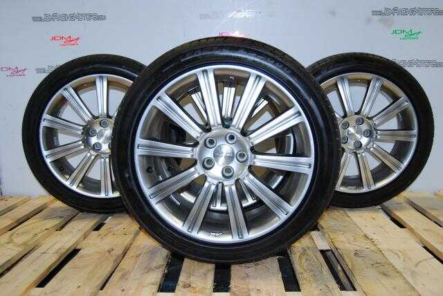 Used JDM Forester STI SG9 5x100 Wheels ||  18x7.5  ||  Offset +48