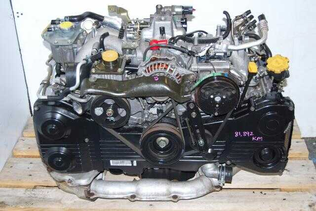 Used JDM Subaru WRX 2002-2005 EJ205 2.0L Turbo Engine