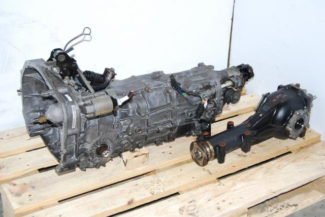 Used Subaru 5-Speed Transmission with 4.444 LSD Differential