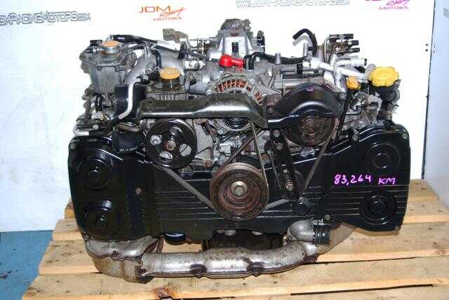 JDM Subaru Impreza WRX 2002-2005 EJ205 Quad Cam Turbo Engine