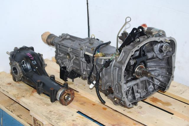 JDM 5-Speed TY754VBAAA Transmission with R160 Matching 4.444 Diff