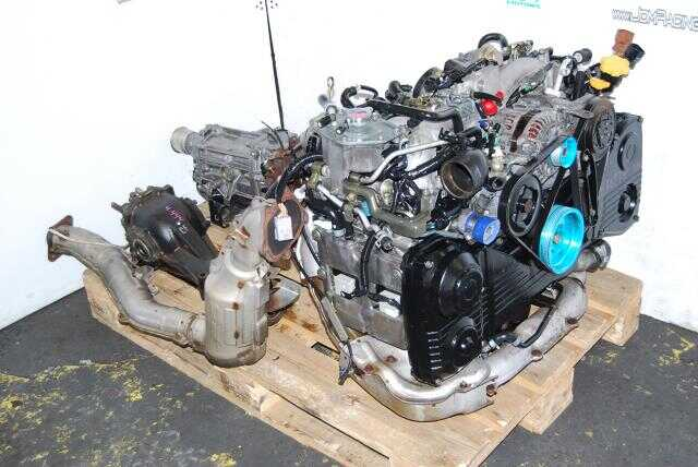 USED JDM EJ205 AVCS Engine 5 Speed transmission & 4.444 Diff package