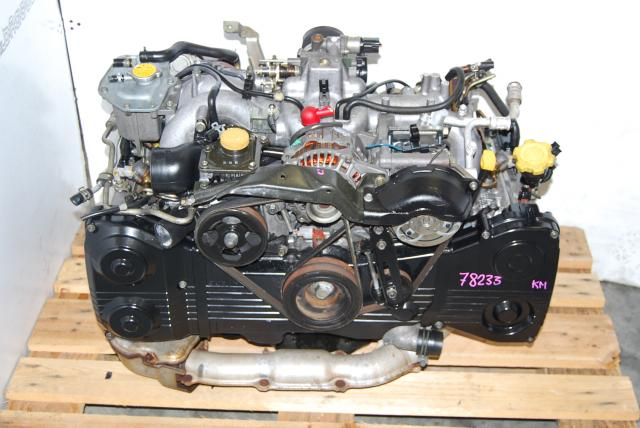 Subaru EJ205 Turbo Engine, WRX 2002-2005 Motor Long Block