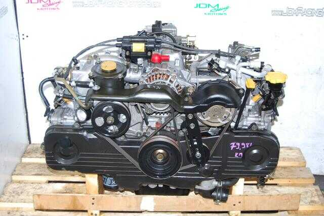 Used Subaru Legacy Forester EJ201 SOHC Replacement Engine for EJ251