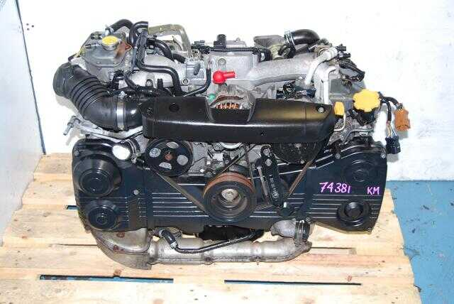 JDM Subaru EJ205 2.0L Engine with AVCS WRX 2002-2005