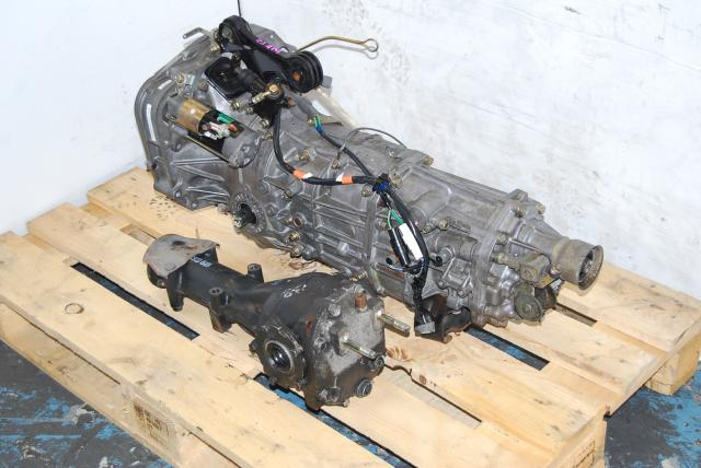 JDM 5 Speed TY754VN2AA Transmission with R160 Matching Diff