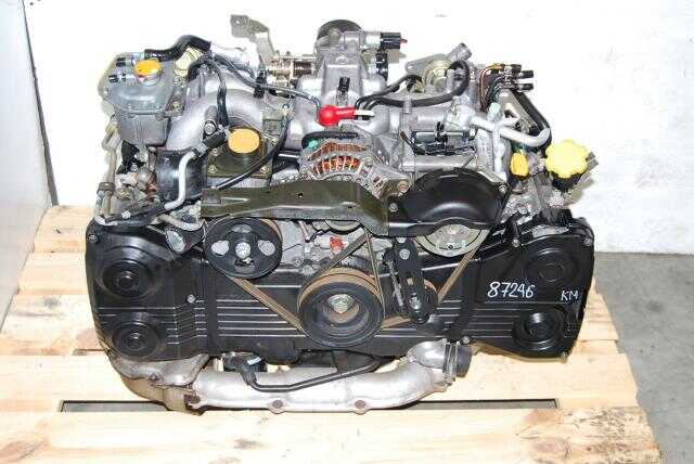 Used Subaru WRX 2002-2005 EJ205 2.0L Quad Cam Turbo Engine