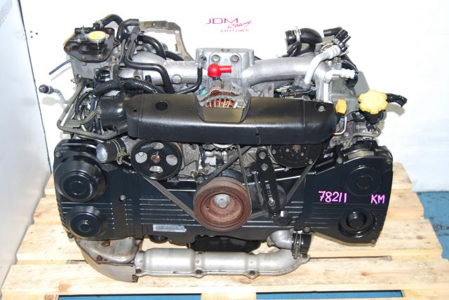 Used WRX 2002-2005 2.0L EJ205 Engine Quad Cam AVCS Turbo Motor