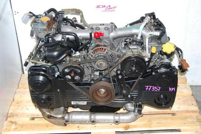 Used WRX 02-05 EJ205 Quad Cam AVCS Motor, 2.0l DOHC TF035 Turbo Engine