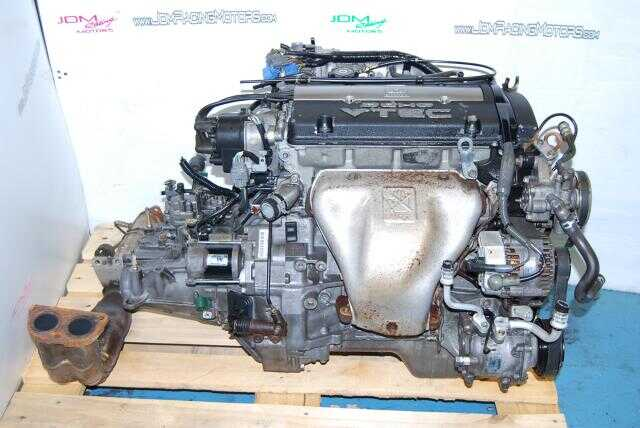 JDM Honda Prelude BB6 H22A OBD2 Engine & Manual Transmission