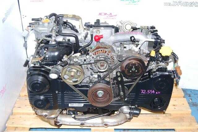 Used Subaru WRX 2002-2005 EJ205 Engine DOHC Quad Cam AVCS 2.0L Turbo Motor