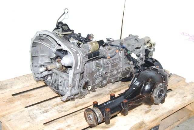 JDM Subaru WRX TY754VBBAA 5-Speed Manual Transmission & LSD R160 4.444 Differential