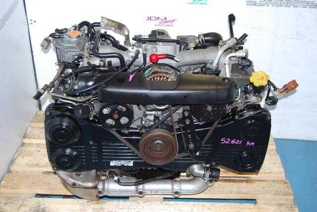 JDM Subaru WRX 2002-2005 EJ205 Turbo Engine, 2.0L Quad Cam AVCS DOHC Motor with TGV Delete