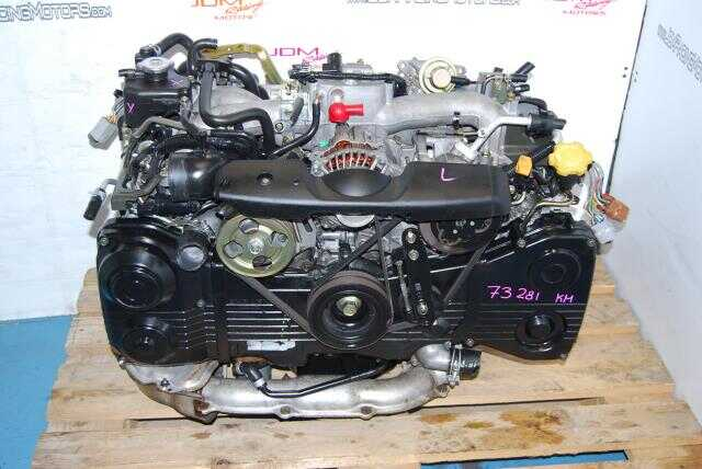 JDM Subaru EJ205 Quad Cam AVCS Engine, DOHC 2.0L Turbo Model WRX Motor