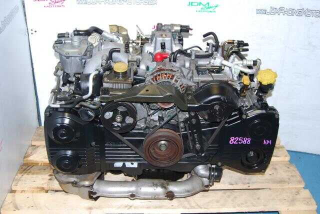 Used Subaru WRX 2002-2005 EJ205 Engine, Quad Cam DOHC Turbo 2.0L Motor