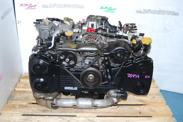 JDM WRX 2002-2005 EJ205 2.0L Motor, DOHC Turbo Quad Cam Engine
