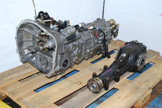 Used WRX TY754VB6AA 5-Speed Manual Transmission & LSD R160 4.444 Differential