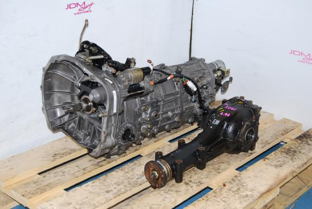 WRX 2002-2004 5-Speed Manual TY754VB4AA Transmission & R160 LSD Differential 4.444 Final Drive