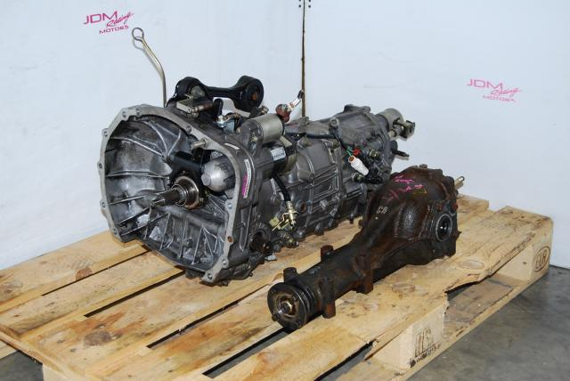 JDM Subaru TY754VBAAA 5-Speed MT & WRX R160 4.444 LSD Differential