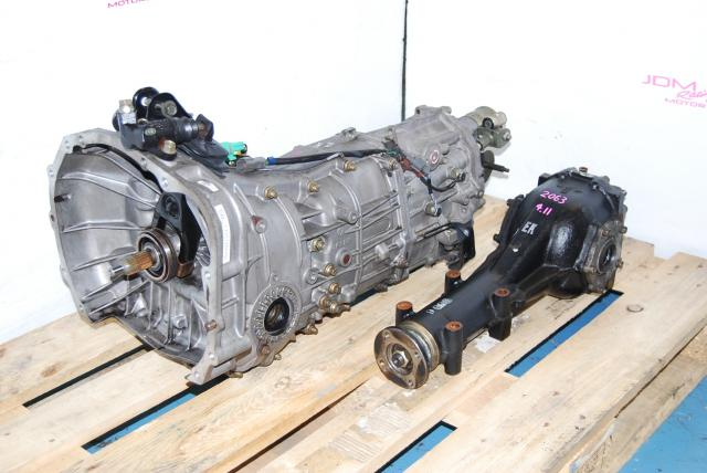 Subaru Impreza 2008-2011 TY757VBAAB 5-Speed Manual Transmission & 4.11 Differential, TY758VC1AA
