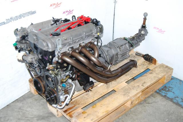 JDM Mazda Miata BP 1.8L DOHC 16-Valve Engine & 5-Speed Transmission Package