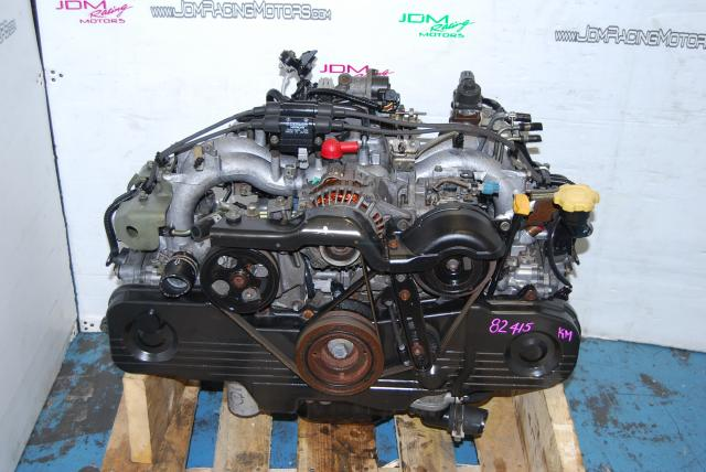 Used Subaru Legacy Forester EJ201 Engine SOHC Replacement Motor for EJ251