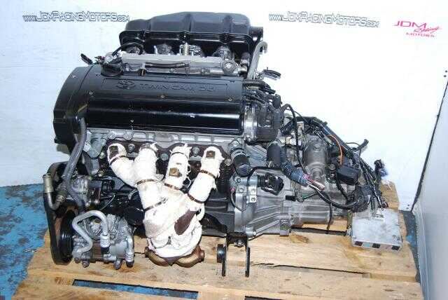 JDM Toyota 4A-GE 20 Valve Blacktop engine, Twin Cam Fifth Generation Motor with Manual Transmission & ECU
