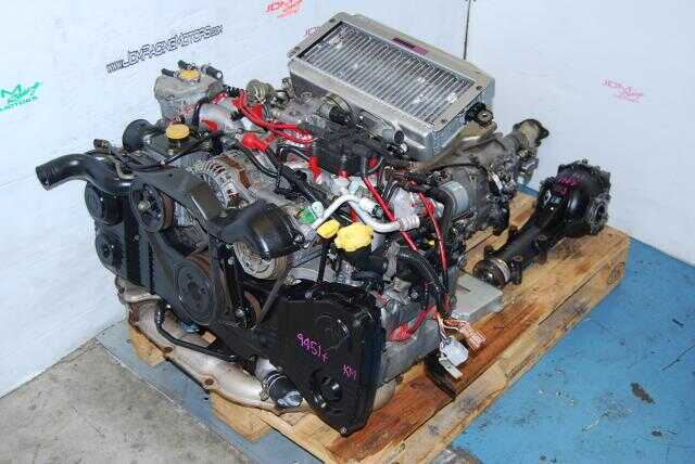 JDM WRX STi EJ207 Engine Version 5/6 GC8 Engine & 5-Speed Manual Transmission Package