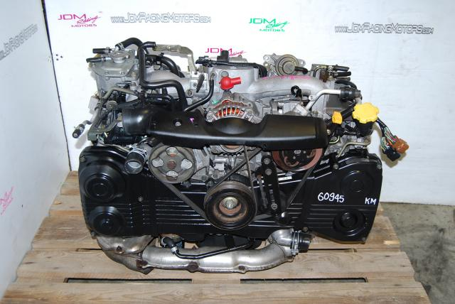 Used WRX 2002-2005 EJ205 AVCS Engine, Quad Cam 2.0L DOHC Turbo Motor
