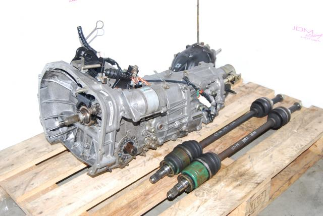 JDM Subaru TY754VBAAA 5-Speed MT, R160 4.444 Diff & Rear WRX Axles
