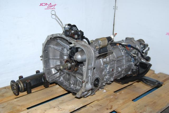 JDM Subaru WRX 2006-2007 TY754VB7AA 5-Speed MT & LSD 4.444 R160 Differential