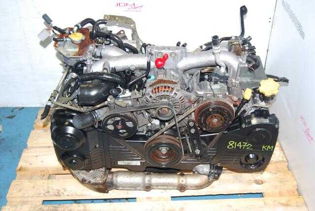 JDM EJ205 AVCS Engine, Quad Cam 2.0L Turbo Model WRX Motor