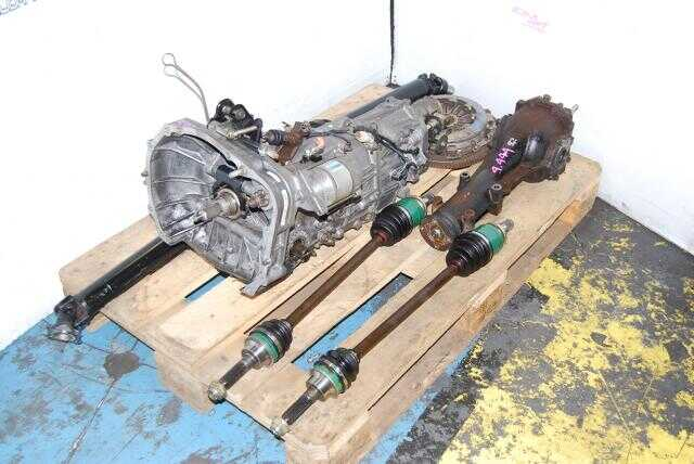 JDM Subaru TY755VB1AA 5 Speed MT & 4.444 Diff, WRX 2002-2004 Replacement for TY754VN2AA, TY754VN2BA & TY754VV4AA