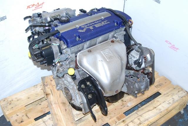 Used Honda F20B VTEC Motor, DOHC 2.0L Accord 1999-2002 OBD2 Engine