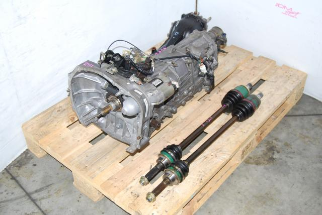 Used Subaru TY755VB1AA 5-Speed Transmission, Axles & LSD Diff, Replacement for TY754VN2BA WRX MT